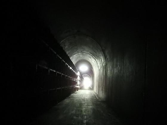 トンネルの帰り