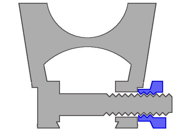 アリエクスプレスで届いたマウントの構造