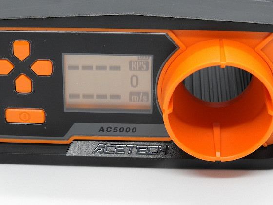 AC5000の表示部
