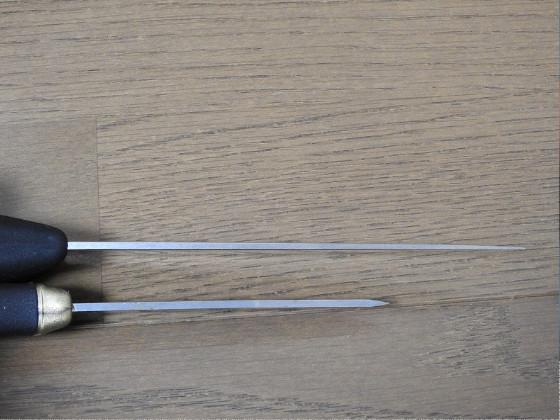 骨スキ丸 5.5603-14NL 14cm(ビクトリノックス/VICTORINOX製)とモーラ・ナイフ コンパニオンを比較