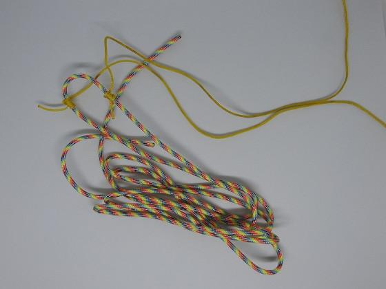 中型獣用の吊り上げロープセット