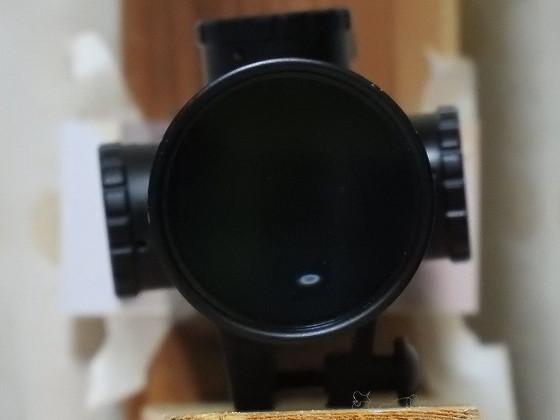 接眼レンズの周りを覆った時の接眼レンズ