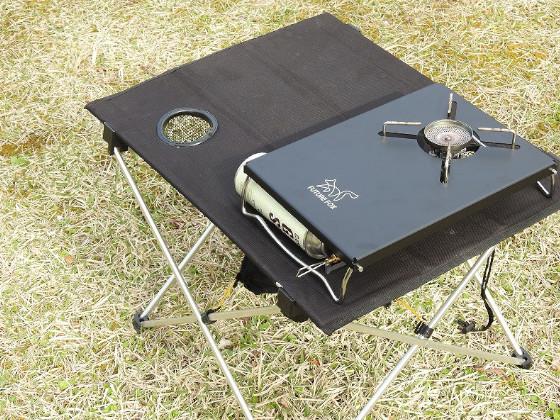 FUTURE FOX  ST-330 レギュレーターストーブ 専用  アルミ テーブル