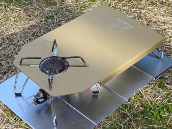 FUTURE FOX SOTO ST-310 専用 ステンレス遮熱テーブル2