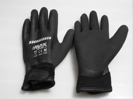 ワークマンのゴム手袋ザ・マックスサーモ